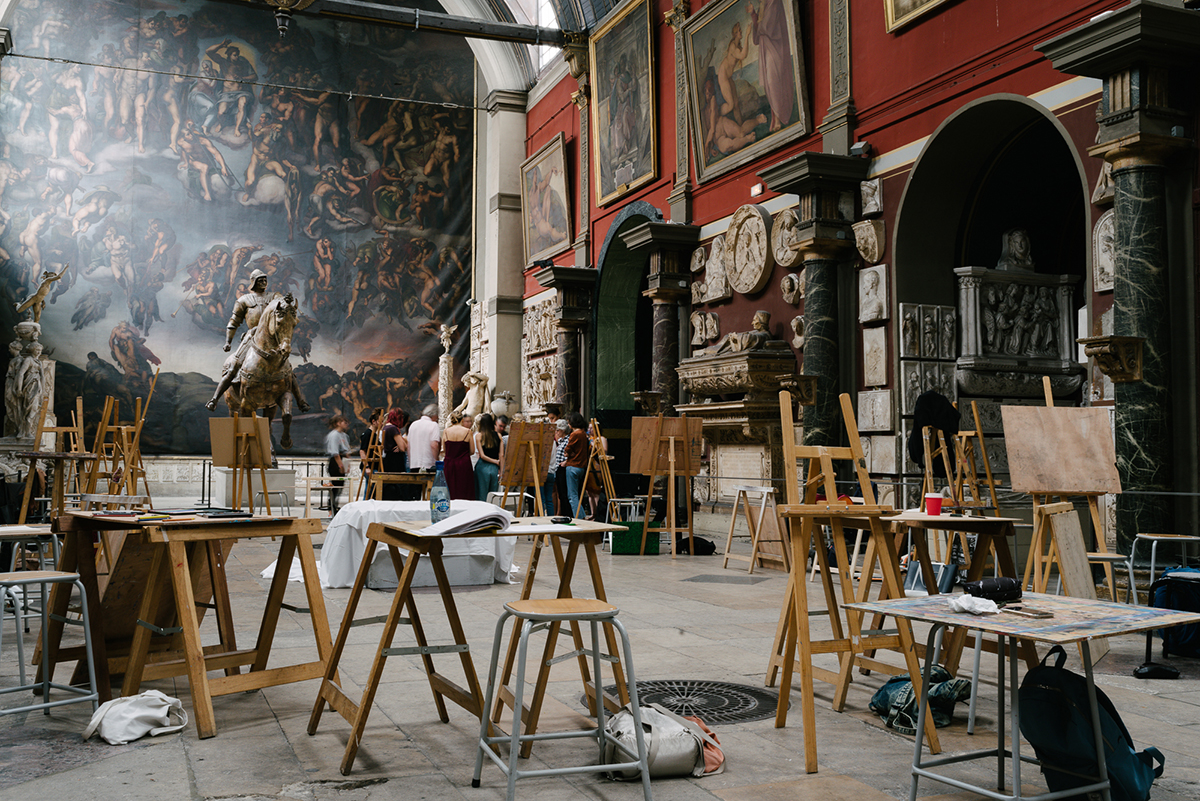 Dessin Peinture Photographie Offrez Vous Des Cours Aux Beaux Arts De Paris Bap