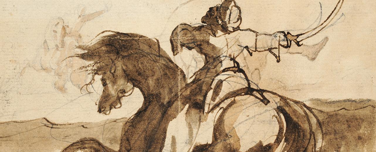 Le dessin romantique, de Géricault à Victor Hugo